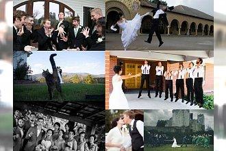 Haha, ich sesje ślubne zostały HITEM Internetu! Ci nowożeńcy nie mogą narzekać na nudne zdjęcia!