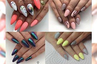 Manicure, który będziesz chciała mieć na swoich paznokciach! Ekstra kobiece inspiracje 2017!