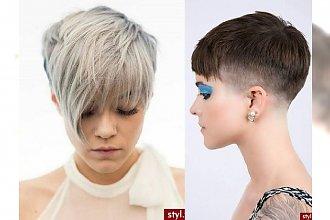 Krótkie fryzurki dla nowoczesnych, ciekawych nowości kobiet - fryzjerskie hity 2017!