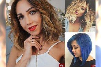 Propozycje fryzur dla włosów średniej długości - kilkanaście kobiecych inspiracji!