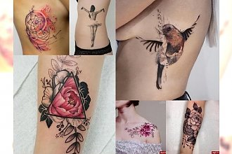 19 tatuaży, które skradną Twoje serce! PRZEGLĄD TRENDÓW 2017!