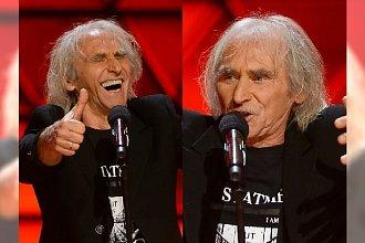 Jerzy Kryszak na festiwalu w Sopocie żartuje z rządu. Na koniec najlepsze! Jego występ to hit!