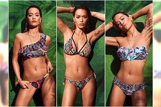 Rita Ora reklamuje stroje kąpielowe Tezenis lato 2017
