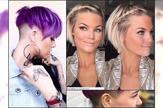 Krótkie fryzury damskie - 20 HOT propozycji na lato