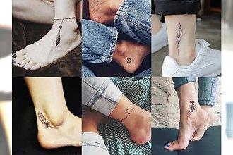 15 absolutnie uroczych tatuaży w okolicach kostki - perfekcyjne dla minimalistek