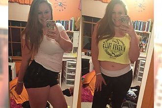 Czego nie powinna nosić kobieta, która waży więcej niż 90 kg? Ta dziewczyna odpowiedziała i podbiła serca internautów
