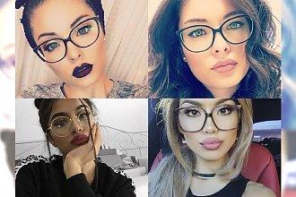 Idealny makijaż dla dziewczyn, które noszą okulary - wskazówki i galeria perfekcyjnych przykładów