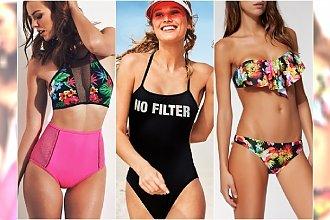 Stroje kąpielowe z sieciówek - najpiękniejsze kostiumy na lato 2017 [NASZ WYBÓR]