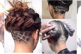 Wzorki na włosach - modna ozdoba undercut!