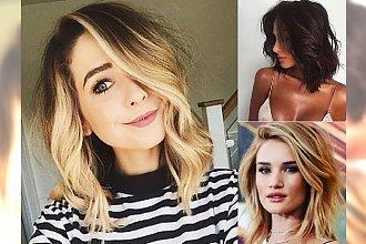Fryzjerskie NOWOŚCI! Odkryj inspiracje na modne fryzury dla półdługich włosów. Te cięcia to prawdziwy HIT TEGO ROKU!