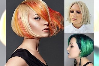 Supermodny bob w różnorodnych odsłonach! Przegląd fryzjerskich trendów 2017!