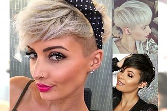 Krótkie cięcia włosów dla charyzmatycznych kobiet! TOP 20-stka, która Cię uwiedzie!