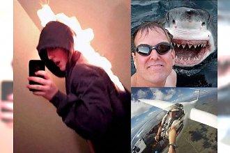 13 najbardziej ekstremalnych selfie z sieci! To jeszcze odwaga czy już głupota? Zdjęcie nr 8 zwala z nóg!