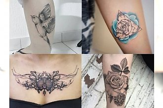 Tatuaże, jak z najlepszych salonów! Postaw na modny motyw, od którego nie można oderwać wzroku!
