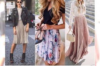 Moda 2017: Plisowana spódnica! 20 gorących propozycji na lato