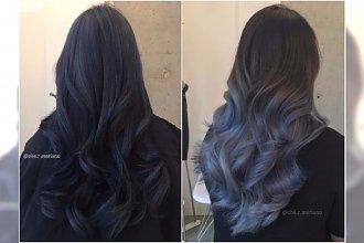 Niezwykłe kolory włosów: grafit i ciemny denim. Wypróbujcie te piękne odcienie!