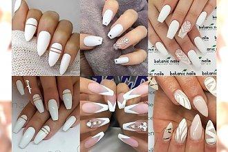 Biały manicure na lato - bosko wygląda z opalenizną i pasuje do wszystkiego. Galeria ślicznych propozycji