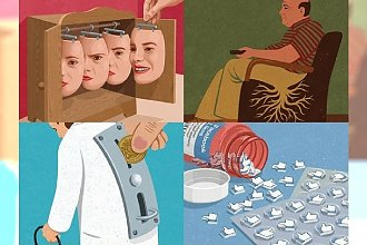 Co jest nie tak z dzisiejszym społeczeństwem? Te grafiki obrazują to w sprytny sposób...