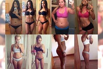 Ta galeria to dopiero motywacja! Zdjęcia kobiet przed i po, które udowadniają, że każdy może schudnąć