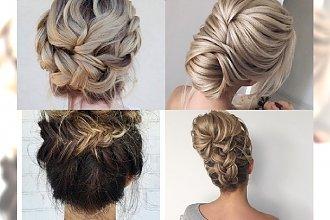 Eleganckie i klasyczne upięcia dla blondynek na letnie wyjście