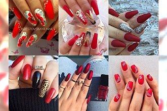 Najpiękniejsze inspiracje na czerwony manicure na lato - idealny na wesele i urlop