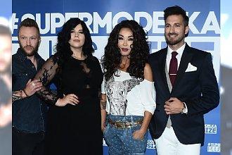 """Spotkanie promujące """"Supermodelka Plus Size"""". Elegancka Zakrzewska i Maślak, ale co miała na sobie Minge?"""