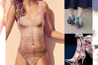 Czasami pomysły projektantów mody nas przerażają! My nie chcielibyśmy tego nawet za darmo! KOSZMAR!