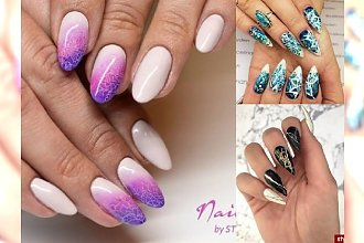 Przeglądamy najnowsze trendy ze świata manicure! Ekstra wzorki i odcienie, które HIPNOTYZUJĄ!