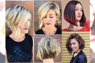 Ultrakobiecy i modny bob w różnorodnych odsłonach! Przegląd fryzjerskich trendów 2017!