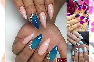 Garść nowych, kobiecych inspiracji na modny manicure - NAJLEPSZE WZORKI I ODCIENIE 2017!