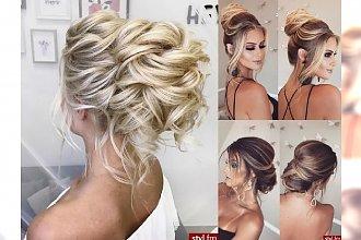 25 fryzur ślubnych, które OLŚNIEWAJĄ! Poznaj najnowsze fryzjerskie trendy dla STYLowej Panny Młodej!