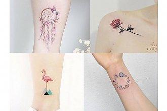 Małe, sekretne, pomysłowe tatuaże, które pokochasz! 20 nowoczesnych wzorów!