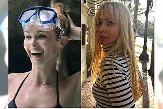 47-letnia Izabella Scorupco na plaży w bikini. Fani: Czas się dla pani zatryzmał