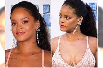 Rihanna najpierw ukrywała dodatkowe kg, teraz ODSŁONIŁA BRZUCH! W takiej kreacji nic się nie ukryje!