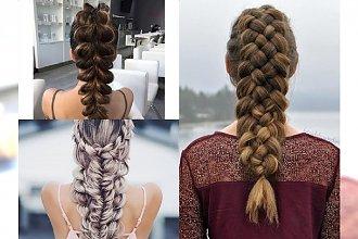 Warkocz inny niż wszystkie - galeria spektakularnych fryzurek, które zachwycą każdego