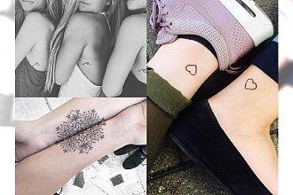Tatuaże dla prawdziwych przyjaciółek - galeria ślicznych inspiracji