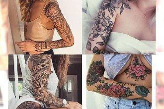 Tatuaże rękawy - galeria wyjątkowych motywów dla kobiet, które podbiją Twoje serce