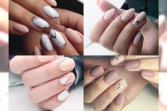 Elegancki i prosty manicure w jasnych kolorach - idealny dla dziewczyn, które kochają klasykę