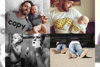 Jaki ojciec, taki syn - przeurocze i zabawne zdjęcia z sieci, którym nie możemy się oprzeć!