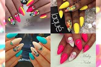 Wyrazisty manicure w intensywnych kolorach - świętuj lato, póki możesz!