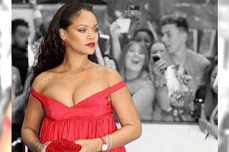 Rihanna PRZYTYŁA 11 kg?! Ta sukienka miała ukryć dodatkowe kilogramy, ale JESZCZE BARDZIEJ ją pogrubiła