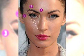 Jak dobrać idealny kształt brwi do owalu twarzy?