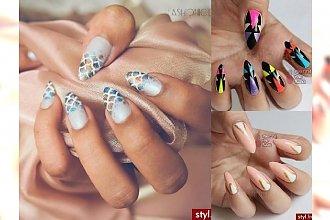 Najnowsze inspiracje na modny manicure - te propozycje robią wrażenie!