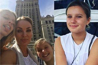 Córka Evy Haliny Rich już tak nie wygląda! Podczas wizyty w Polsce, dziewczynka zdecydowała się na...