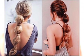 Bubble braid - jak zrobić tę supermodną fryzurę? [WIDEO + INSPIRACJE]