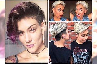 Krótkie fryzury - modne, kobiece cięcia z grzywką, asymetryczne, undercut