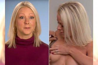 Przez nieudolnego chirurga jej piersi wyglądają KOSZMARNIE. Musi codziennie sklejać je taśmą!