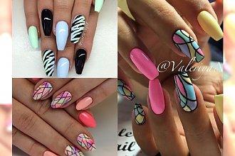 Śliczne nowości ze świata manicure - pokochacie je za te kolorki i wzory!