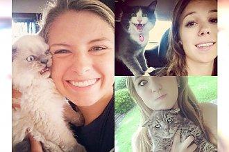 Najlepsze selfie z sieci, które skradły koty - te zdjęcia rozbawią Was do łez!