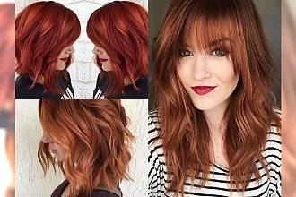 Najpiękniejsze odcienie rudego - galeria dla dziewczyn, które marzą o stylowej metamorfozie na jesień